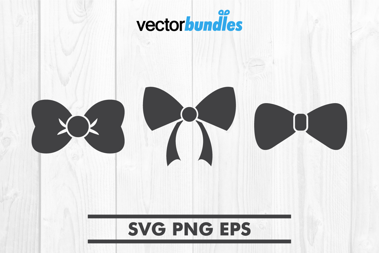 Download Free Bow Tie Clip Art Svg Graphic By Vectorbundles Creative Fabrica for Cricut Explore, Silhouette and other cutting machines.