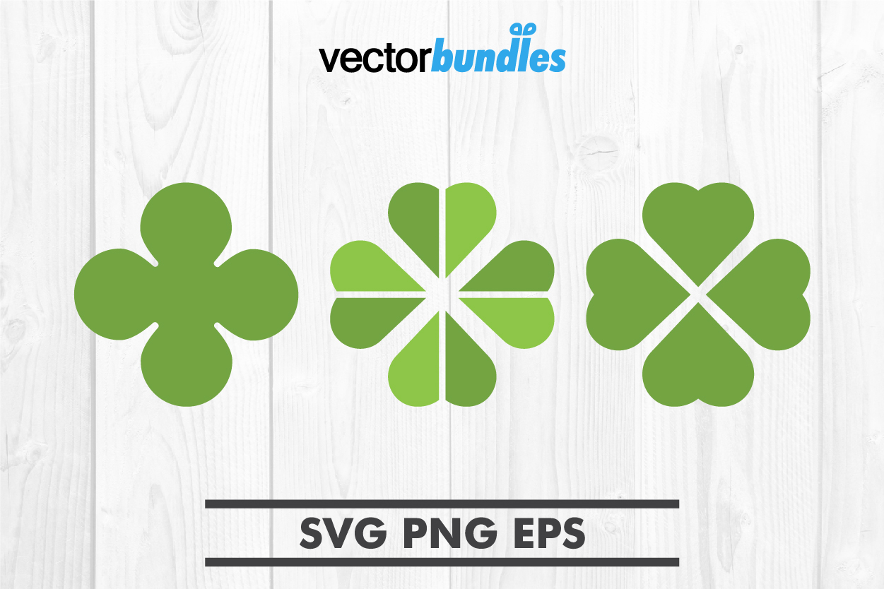Download Free Clover Leaf Clip Art Svg Graphic By Vectorbundles Creative Fabrica for Cricut Explore, Silhouette and other cutting machines.