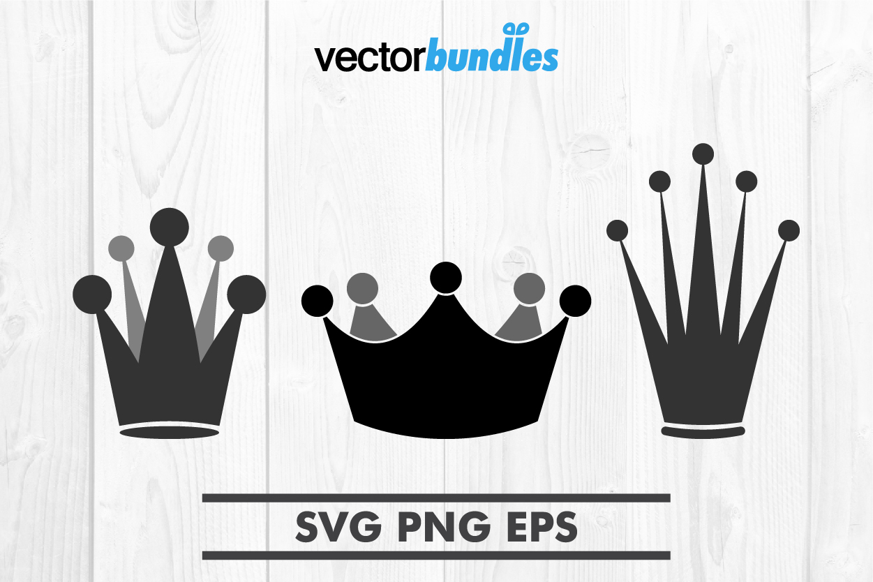 Download Free Crown Silhouette Clip Art Svg Graphic By Vectorbundles for Cricut Explore, Silhouette and other cutting machines.