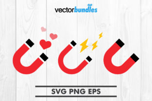 Download Free Magnet U Clip Art Svg Graphic By Vectorbundles Creative Fabrica for Cricut Explore, Silhouette and other cutting machines.