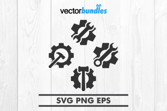 Download Free Mechanic Tools Clip Art Svg Graphic By Vectorbundles Creative for Cricut Explore, Silhouette and other cutting machines.