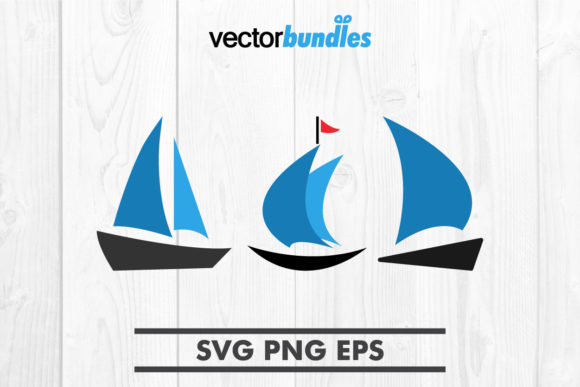 Download Free Sailboat Clip Art Svg Graphic By Vectorbundles Creative Fabrica for Cricut Explore, Silhouette and other cutting machines.