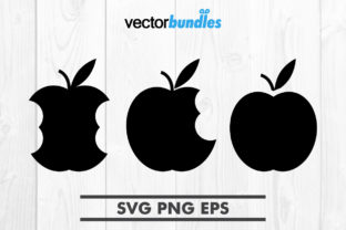 Download Free Apple Fruit Clip Art Svg Graphic By Vectorbundles Creative Fabrica for Cricut Explore, Silhouette and other cutting machines.