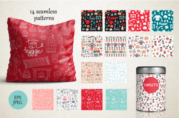 Download Free Hygge Collection Graphic By Alisovna Creative Fabrica SVG Cut Files
