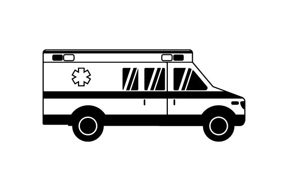 Download Free Ambulance Svg Cut File By Creative Fabrica Crafts Creative Fabrica for Cricut Explore, Silhouette and other cutting machines.