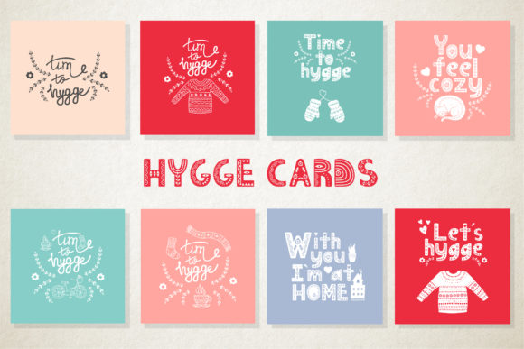Hygge Collection Graphic Illustrations By Alisovna - Image 7