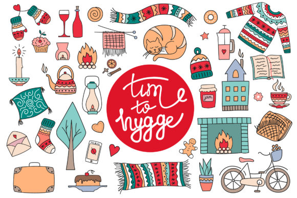 Hygge Collection Graphic Illustrations By Alisovna - Image 2
