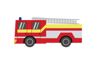 Fire Engine Cars Craft Cut File By Creative Fabrica Crafts