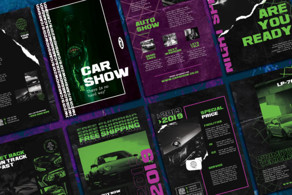 Flyer Car Templates Graphic Web Templates By qohhaarqhaz