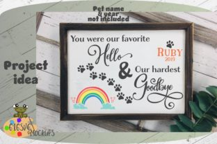 Download Free Favorite Hello Hardest Goodbye Svg Graphic By 616svg Creative for Cricut Explore, Silhouette and other cutting machines.