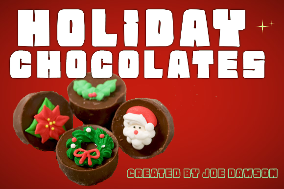 Print on Demand: Holiday Chocolate Display Font By Joe Dawson