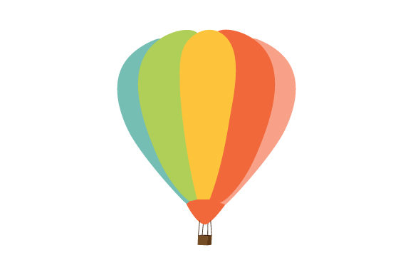 Download Free Hot Air Balloon Svg Cut File By Creative Fabrica Crafts for Cricut Explore, Silhouette and other cutting machines.