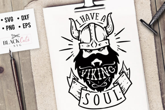 Download Free I Have A Viking Soul Svg Graphic By Blackcatsmedia Creative for Cricut Explore, Silhouette and other cutting machines.