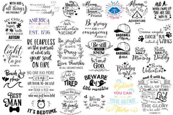 Download Free The Ginormous Cut Files Bundle Graphic By Nerd Mama Cut Files for Cricut Explore, Silhouette and other cutting machines.