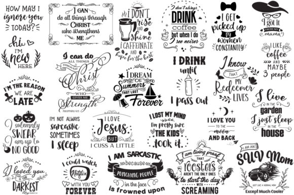 The Ginormous Cut Files Bundle Graphic Crafts By Nerd Mama Cut Files - Image 12
