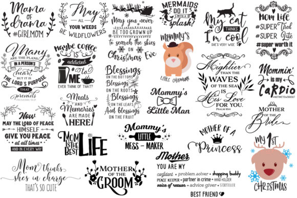 The Ginormous Cut Files Bundle Graphic Crafts By Nerd Mama Cut Files - Image 20