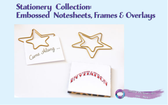 Download Free Embossed Notesheets Seperate Overlays Graphic By Angela H for Cricut Explore, Silhouette and other cutting machines.
