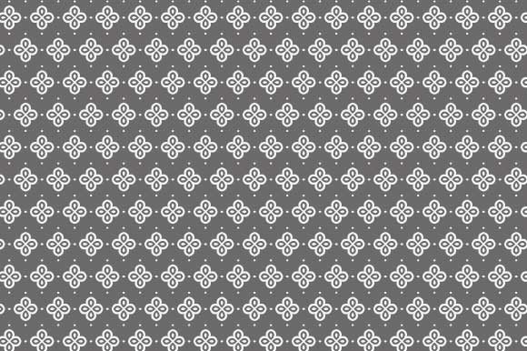 Print on Demand: Digital Paper Gray White Pattern Graphic Backgrounds By GraphicsFarm