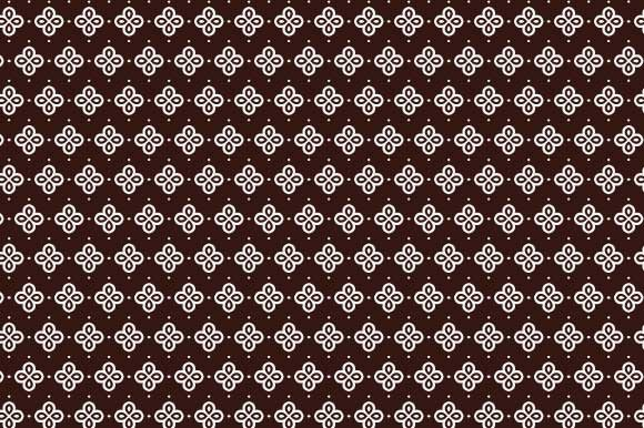 Print on Demand: Digital Paper Brown White Pattern Graphic Backgrounds By GraphicsFarm