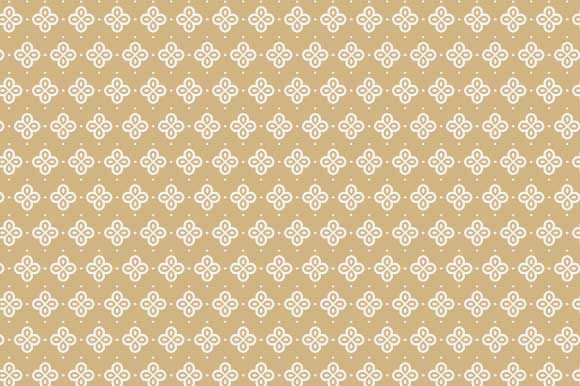 Print on Demand: Digital Paper Beige White Pattern Graphic Backgrounds By GraphicsFarm