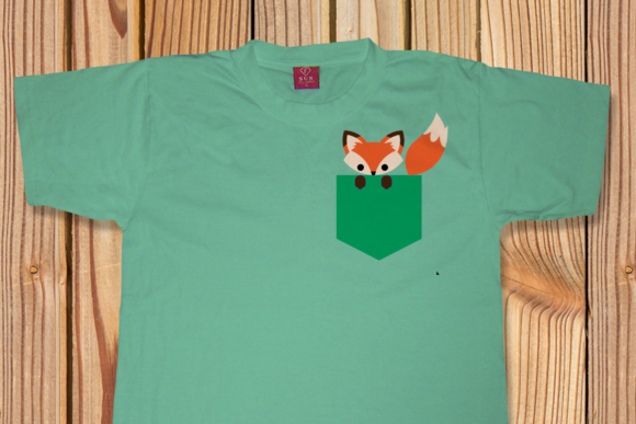 Pocket Fox SVG Graphic Crafts By RisaRocksIt - Image 3