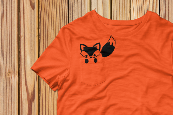 Pocket Fox SVG Graphic Crafts By RisaRocksIt - Image 4
