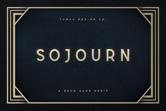 Sojourn Sans Serif Font By Ghosmod