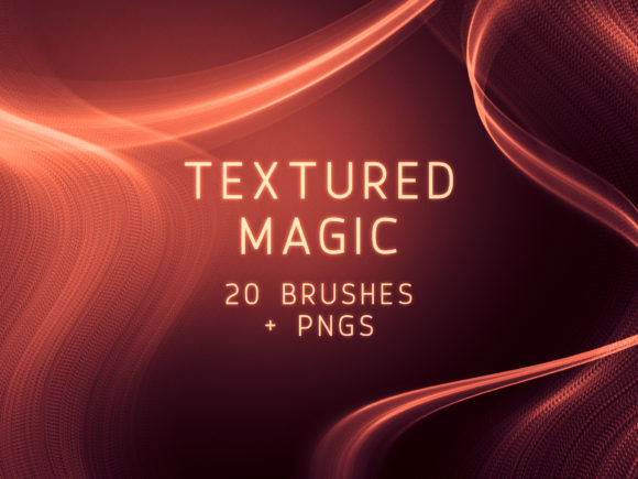 Print on Demand: Textured Magic PS Brushes and PNGs Graphic Brushes By OA Design