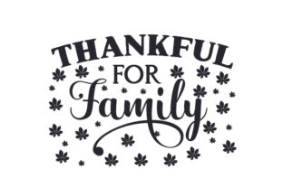 Thankful for Family Craft Design By Creative Fabrica Crafts