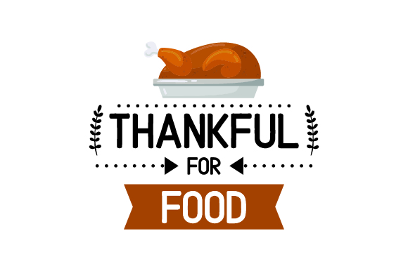 Download Free Thankful For Food Turkey On Plate Svg Cut File By Creative for Cricut Explore, Silhouette and other cutting machines.