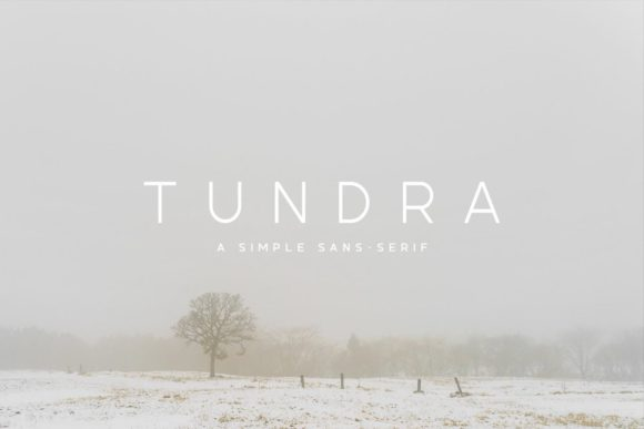 Tundra Sans Serif Font By Ghosmod
