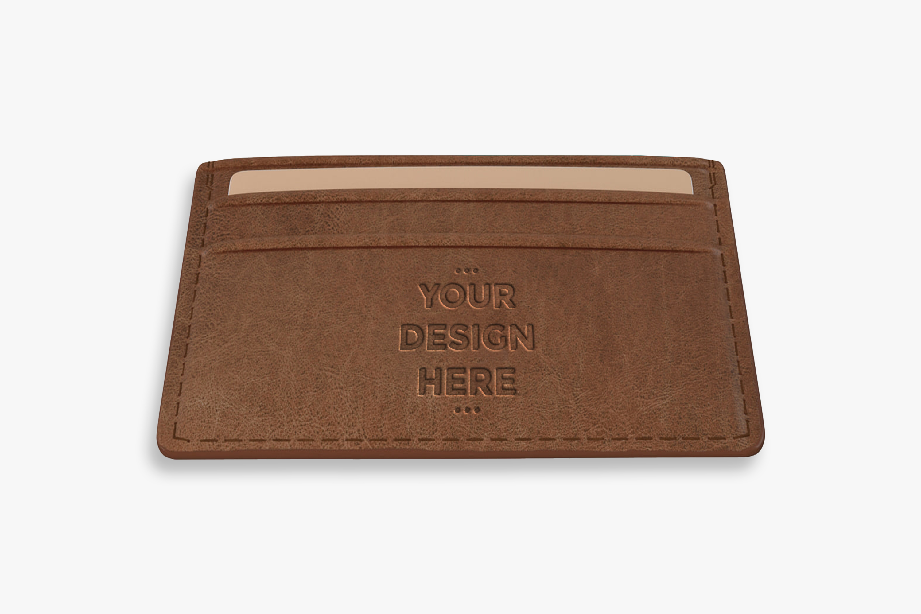 Download Free Brown Leather Wallet Mock Up Template Graphic By Suedanstock for Cricut Explore, Silhouette and other cutting machines.