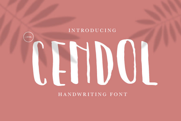Print on Demand: Cendol Display Font By OKEVECTOR