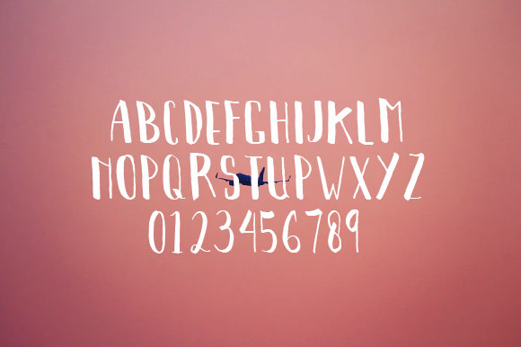 Print on Demand: Cendol Display Font By OKEVECTOR - Image 2