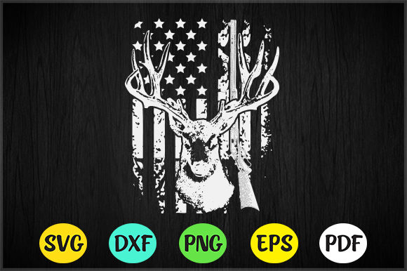 Download Free 14 Hunting Design Bundle Graphic By Artistcreativedesign for Cricut Explore, Silhouette and other cutting machines.