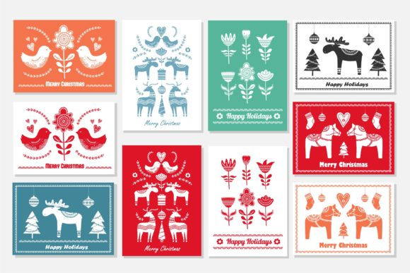Scandinavian Christmas Pack Graphic Illustrations By Alisovna - Image 3