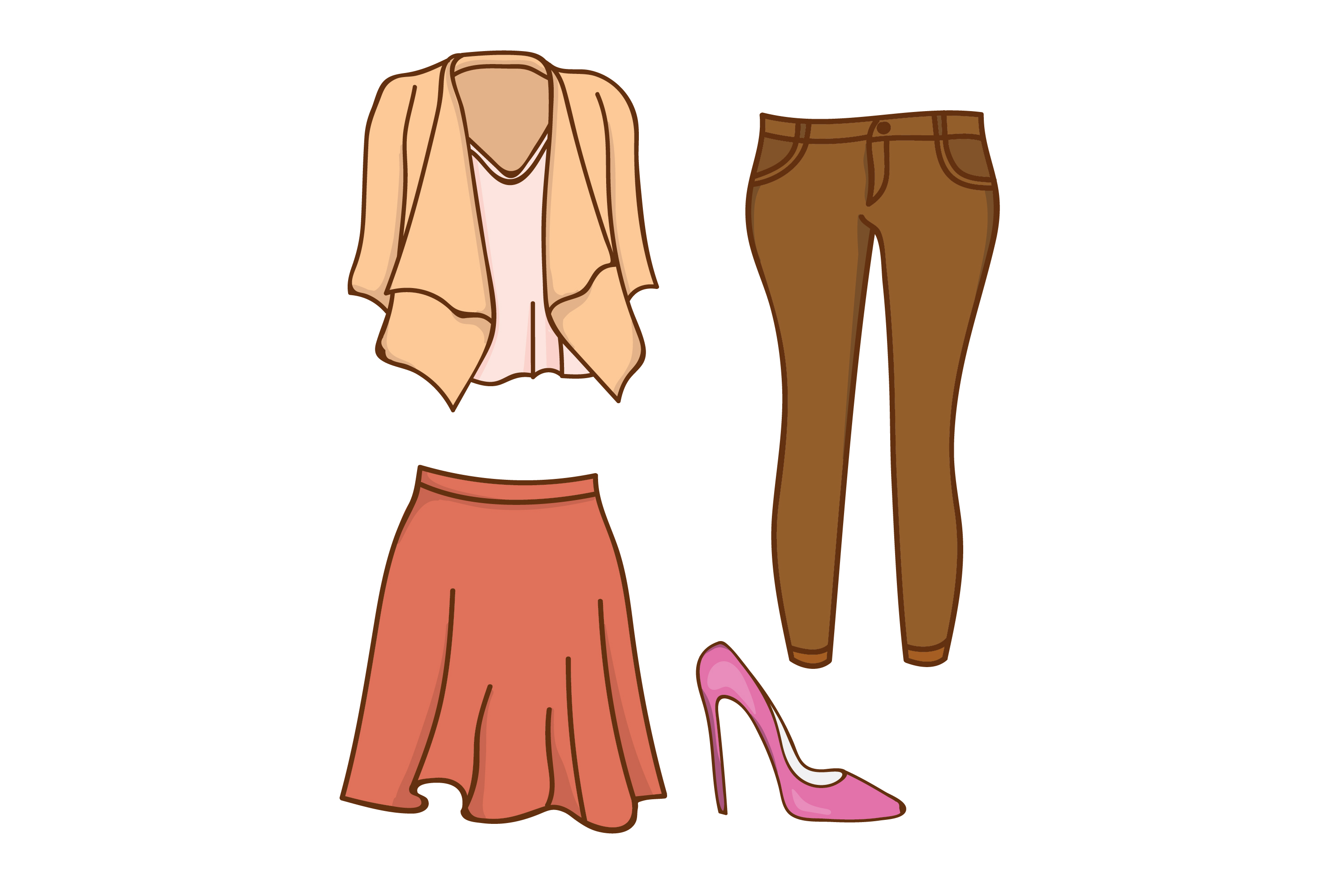 Download Free Women S Clothing Suit Design Graphic By Sabavector Creative SVG Cut Files