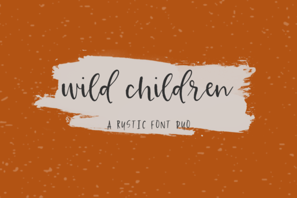 Print on Demand: Wild Children Script & Handwritten Font By BeckMcCormick - Image 1