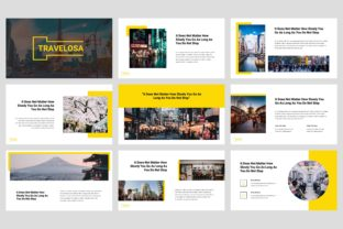 Travelosa - Japanese PowerPoint Graphic Presentation Templates By StringLabs 2