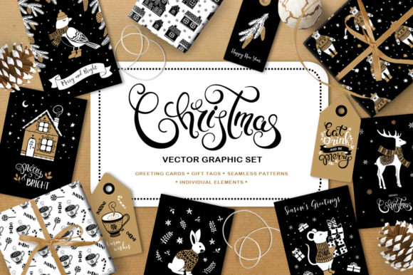 Christmas Vector Graphic Set Graphic By Nata Art Graphic