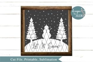 Let It Snow Graphic By Designs by Jolein