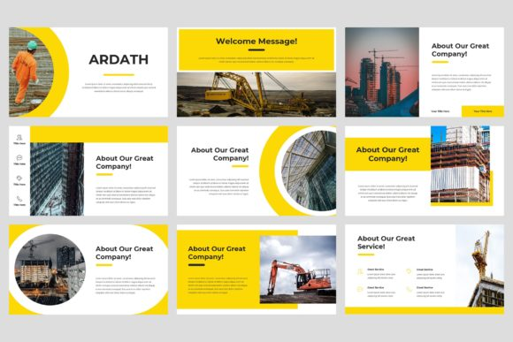 Download Free Ardath Construction Powerpoint Graphic By Stringlabs for Cricut Explore, Silhouette and other cutting machines.