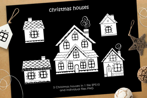 Print on Demand: Christmas Vector Graphic Set Graphic Illustrations By Nata Art Graphic - Image 10