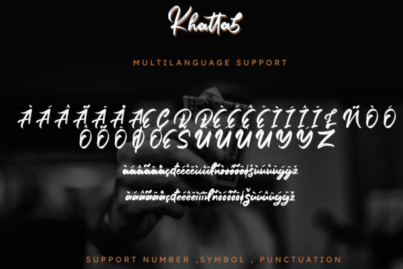 Print on Demand: Khattab Script & Handwritten Font By Arendxstudio - Image 10
