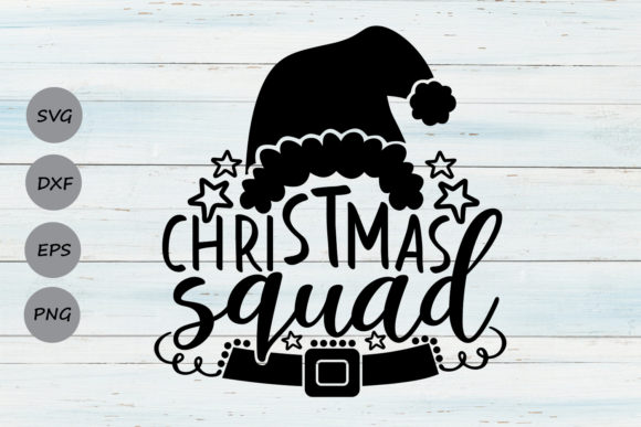 Download Free Christmas Squad Grafico Por Cosmosfineart Creative Fabrica for Cricut Explore, Silhouette and other cutting machines.