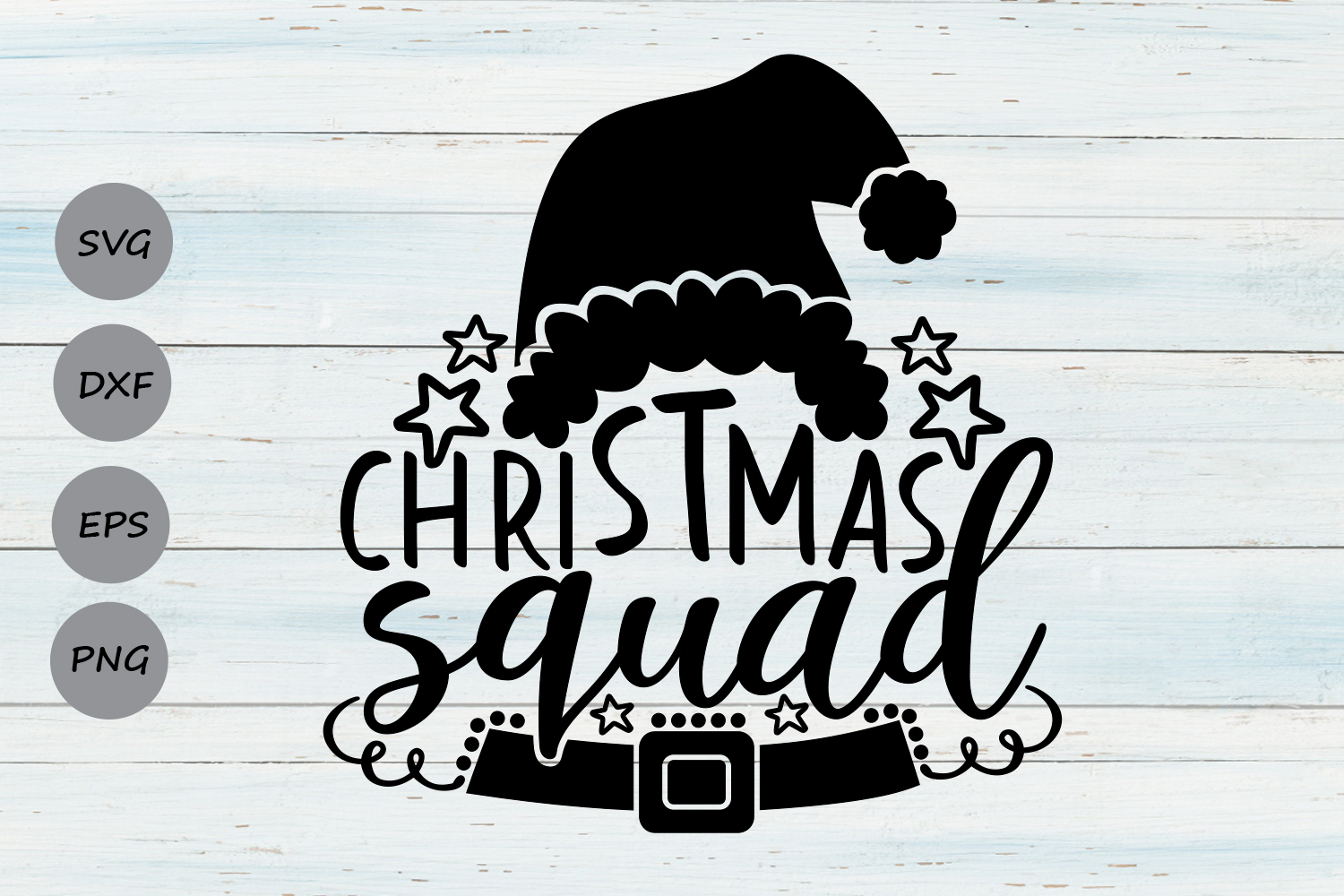 Download Free Christmas Squad Graphic By Cosmosfineart Creative Fabrica for Cricut Explore, Silhouette and other cutting machines.