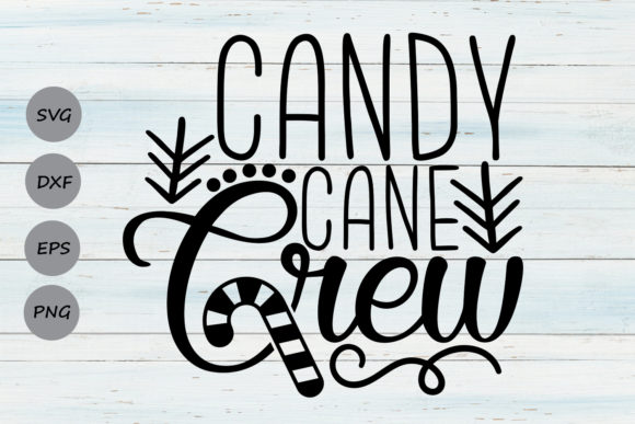 Download Free Candy Cane Crew Svg Graphic By Cosmosfineart Creative Fabrica SVG Cut Files