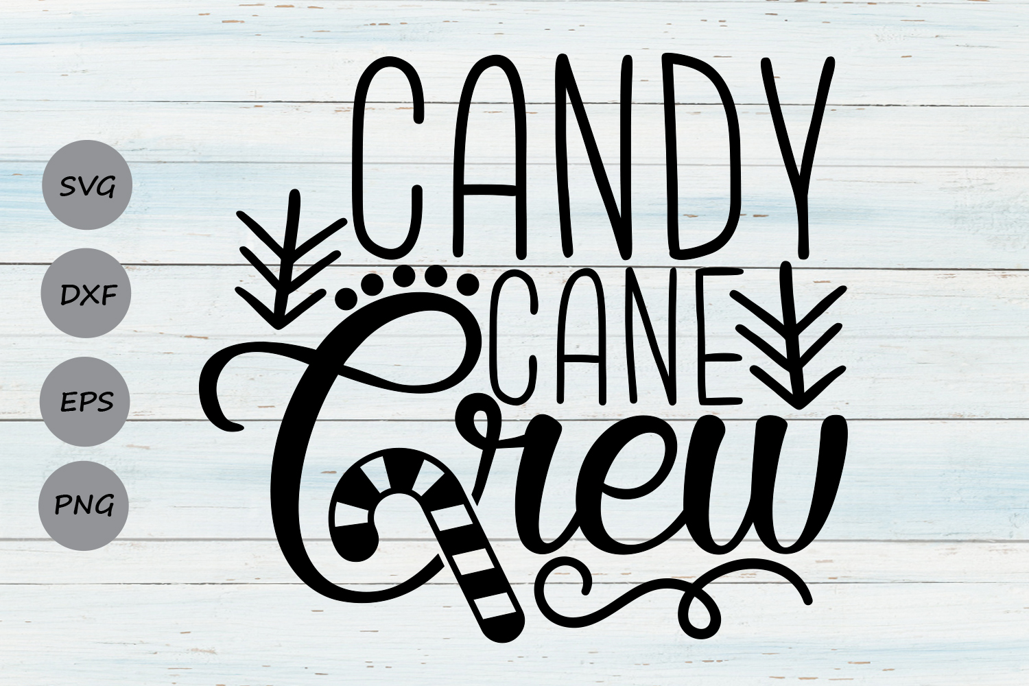 Download Free Candy Cane Crew Svg Graphic By Cosmosfineart Creative Fabrica for Cricut Explore, Silhouette and other cutting machines.