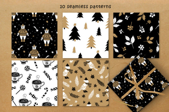 Print on Demand: Christmas Vector Graphic Set Graphic Illustrations By Nata Art Graphic - Image 14