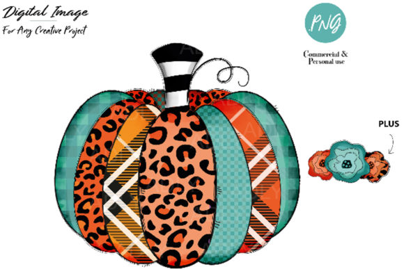Print on Demand: Pumpkin Sublimation,pumpkin HTV Transfer Graphic Illustrations By adlydigital